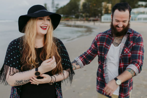 Emma & Samuel // Burleigh Beach // Engagement Shoot